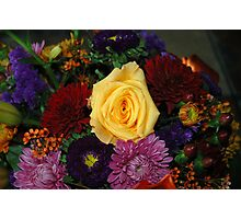 Yelllow Rose  Photographic Print