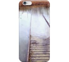 Path Into The Lake iPhone Case/Skin