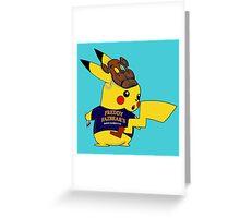 PikaSecurity Greeting Card