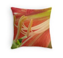 Waiting for pollination Throw Pillow