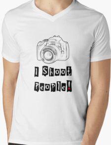 I Shoot People! Mens V-Neck T-Shirt