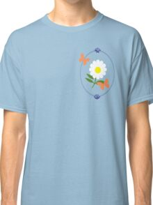 Daisy Butterfly Frame Classic T-Shirt