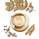 Cappuccino and Cinnamon by joeyartist