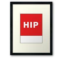 Hip | Lust Brick Framed Print