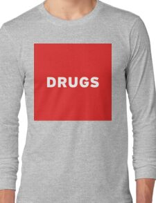 Drugs | Lust Brick Long Sleeve T-Shirt