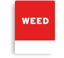 Weed | Lust Brick Canvas Print