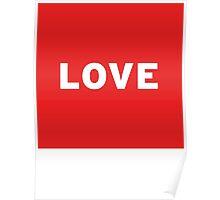 Love   Lust Brick Poster