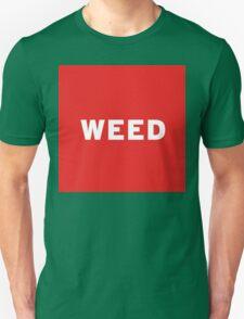 Weed   Lust Brick T-Shirt
