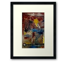 Raw Emotions II Framed Print