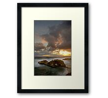 London Bridge Sunset Framed Print