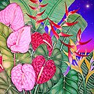 Anthurium Dusk by joeyartist