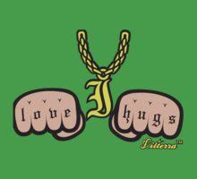 I Love Hugs by lilterra.com Baby Tee