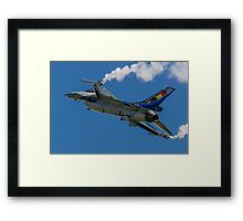 Belgian F-16AM 2012 demonstrator FA-84 Framed Print