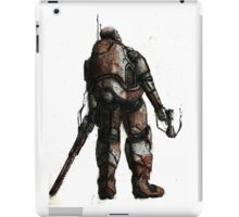 Rusted FIghter iPad Case/Skin