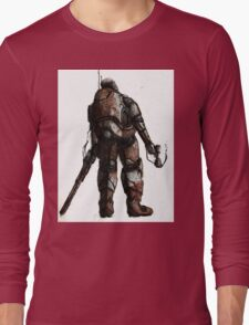 Rusted FIghter Long Sleeve T-Shirt