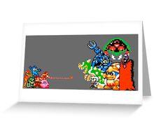 Nintendo Fight Greeting Card