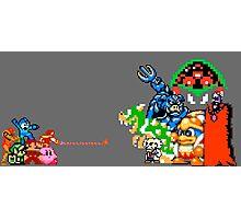 Nintendo Fight Photographic Print