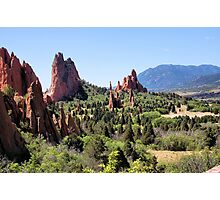 Another view of Garden of the Gods Photographic Print