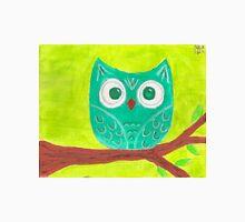 Teal Owl Unisex T-Shirt