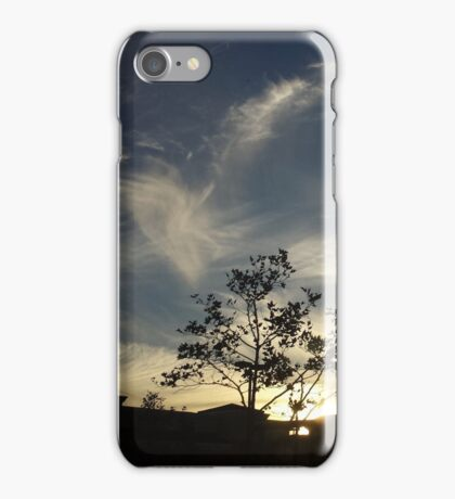 Snow Day Sunsets iPhone Case/Skin