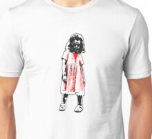 Little Girl Zombie Unisex T-Shirt