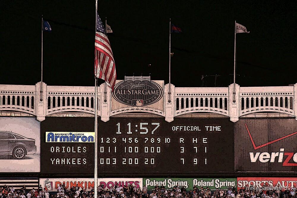 Last Score at Yankee Stadium by mikepaulhamus