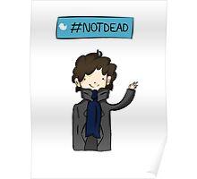 Sherlock #Not Dead Poster