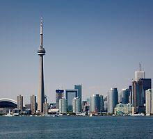 City Skyline by Alan Hyland
