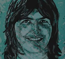 Gram Parsons by Suzanne  Gee