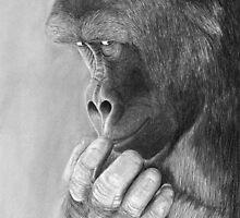 My Secret - Gorilla by Heather Ward