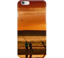 Paddlers and Anglers iPhone Case/Skin