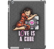 L0VE is a CUBE (Portal 1 ver.) iPad Case/Skin