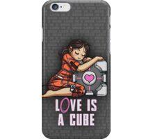 L0VE is a CUBE (Portal 1 ver.) iPhone Case/Skin