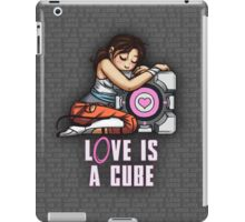 L0VE is a CUBE (Portal 2 ver.) iPad Case/Skin