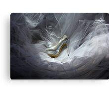 Wedding Shoe Vortex Canvas Print