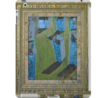 Orchard Of Frog Boxes - Framed Abstract iPad Case/Skin