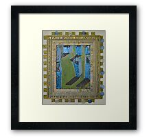 Orchard Of Frog Boxes - Framed Abstract Framed Print