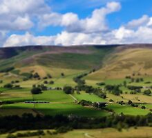 A line through the valley by miketudge