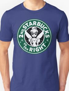 2nd Starbucks to the Right Unisex T-Shirt