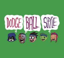 DODGE BALL STYLE - Teen Titans Go One Piece - Short Sleeve