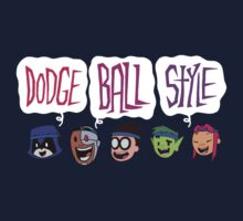 DODGE BALL STYLE - Teen Titans Go Kids Tee