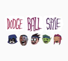 DODGE BALL STYLE - Teen Titans Go One Piece - Long Sleeve