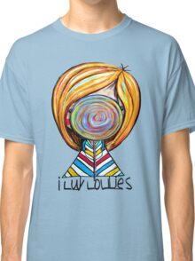 I LUV LOLLIES! Classic T-Shirt