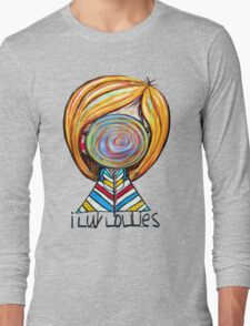 I LUV LOLLIES! Long Sleeve T-Shirt