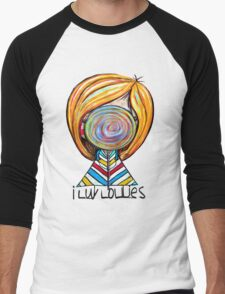 I LUV LOLLIES! Men's Baseball ¾ T-Shirt