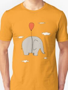 Elephant with a red balloon T-Shirt