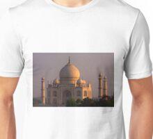 Taj Mahal Sunset Unisex T-Shirt