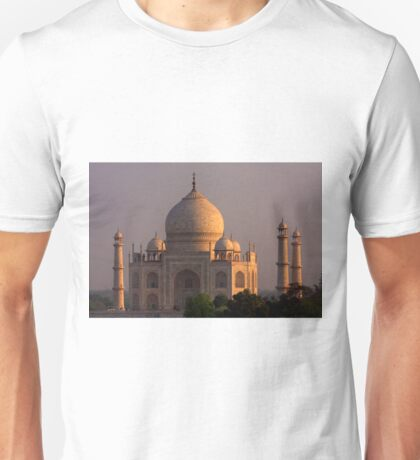 Taj Mahal Sunset Unisex T-Shirt
