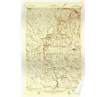 Maine USGS Historical Map Ashland 806463 1931 48000 Poster