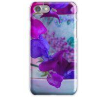 Sweet Pea Teacup iPhone Case/Skin